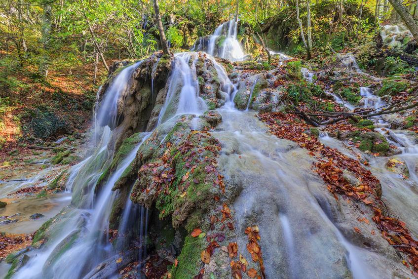 Cascada Beușniței - obiectiv turistic din România
