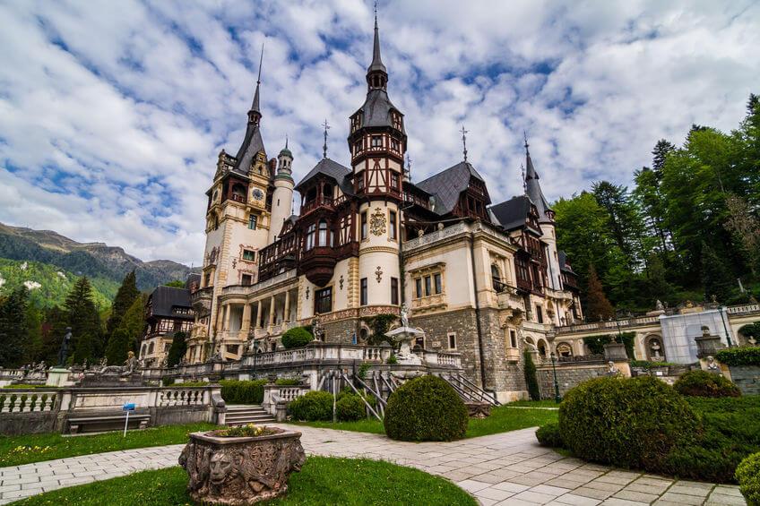 Castelul Peleș - obiectiv turistic Sinaia. Castele din România