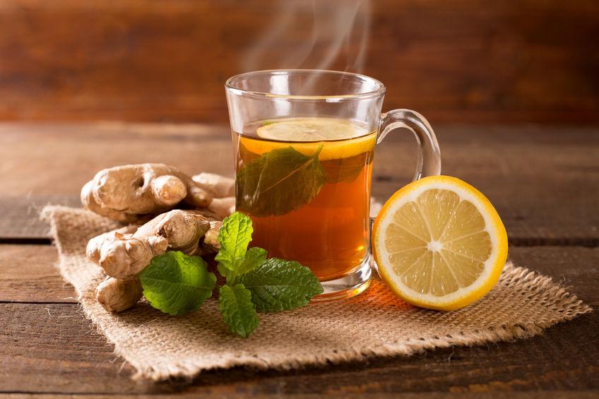 reteta ceai de ghimbir cu lamaie)