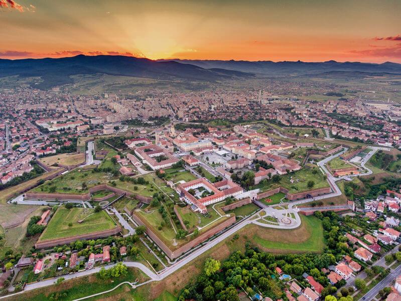 Cetatea Alba Iulia - Cele mai frumoase cetăți din România
