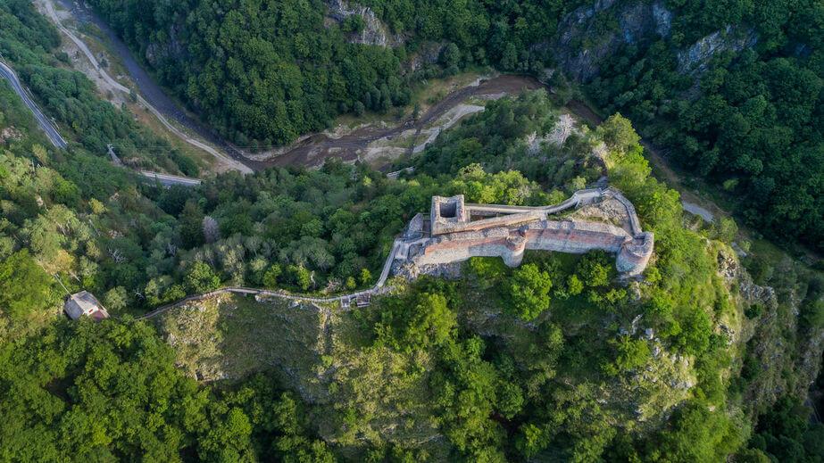 Cetăți din România - Cetatea Poenari