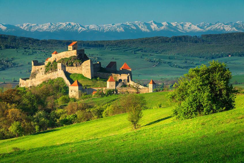 Cetatea Rupea - Cetăți din România