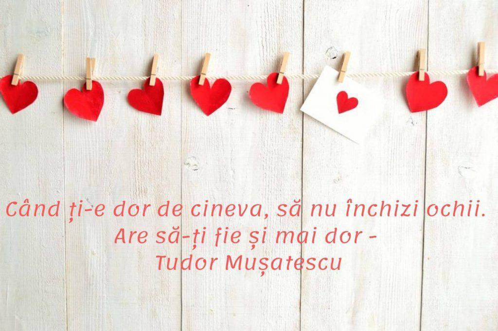 Citate despre dor și iubire - Tudor Mușatescu