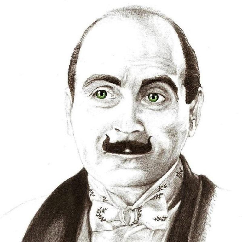 Hercule Poirot, detectivul creat de scriitoarea Agatha Christie