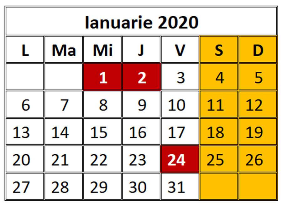 Imagini pentru ianuarie 2020