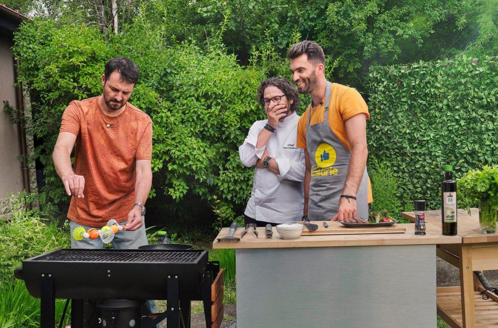 Tecău, alături de Chef Dumitrescu și de actorul Andrei Aradits