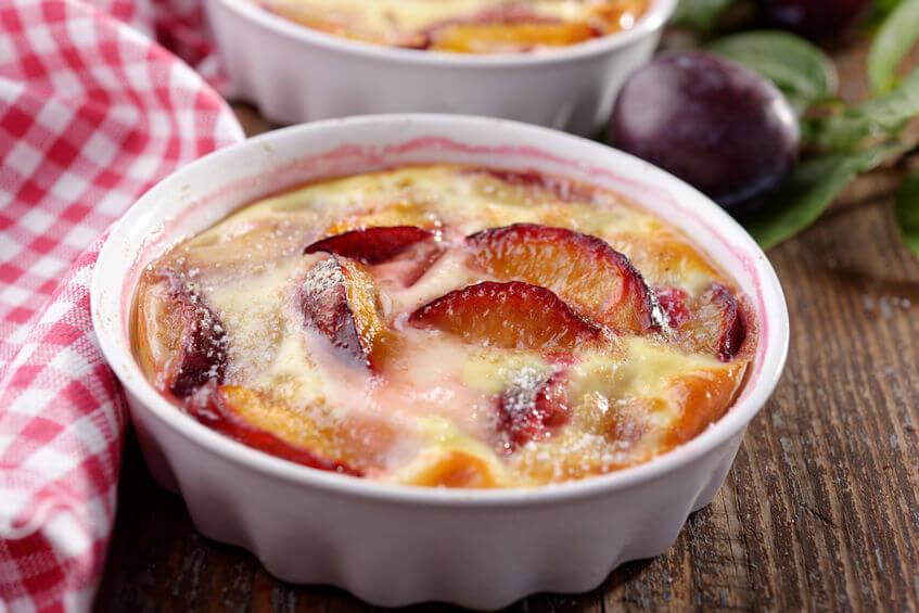 Clafoutis cu prune