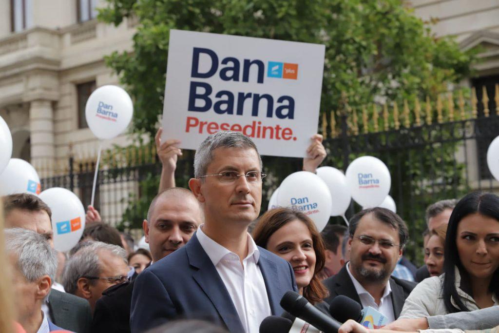 Dan Barna unul din candidaţii la alegerile prezidenţiale din 2019