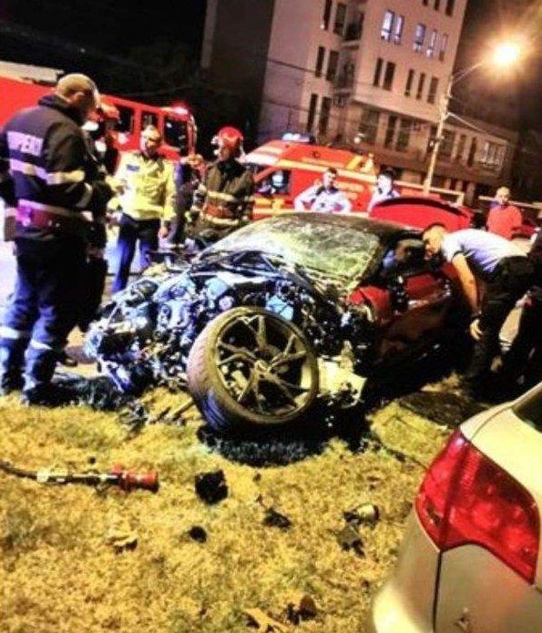 Accidentul  de sâmbătă seară, pe Şoseaua Chitilei, în Bucureşti