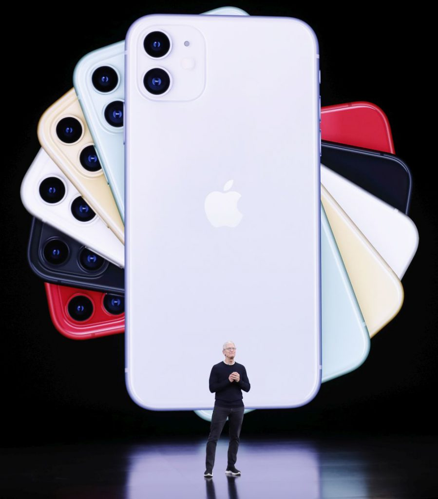 iPhone 11, prezentat de Tim Cook, CEO Apple