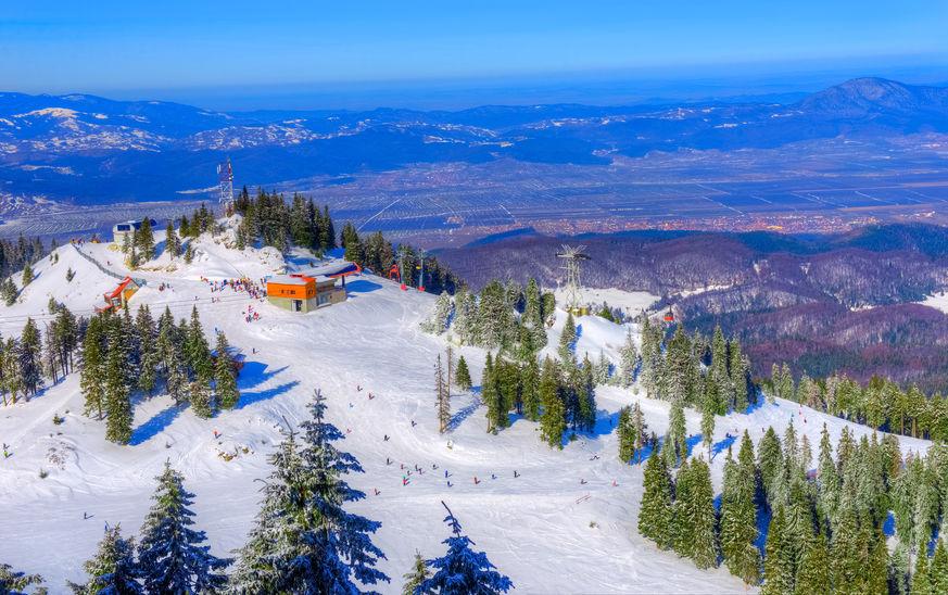 Pârtii de ski din România - stațiunea Poiana Brașov