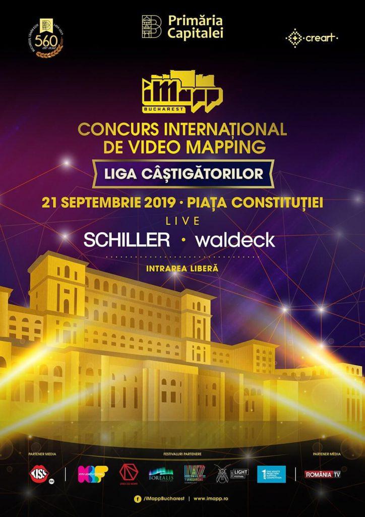 Zilele Bucureștiului 2019 - Concert Schiller și iMapp