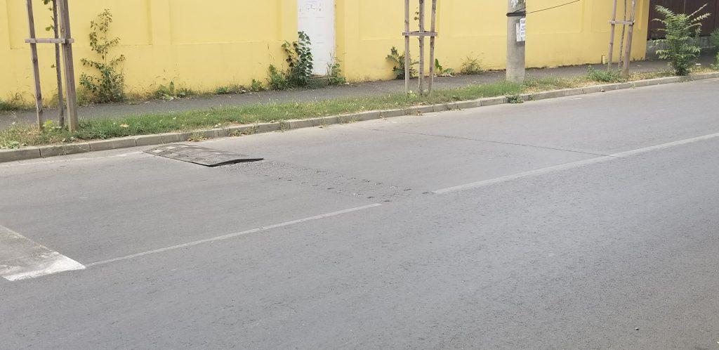 Limitatoarele de viteză scoase de pe str. Orșova