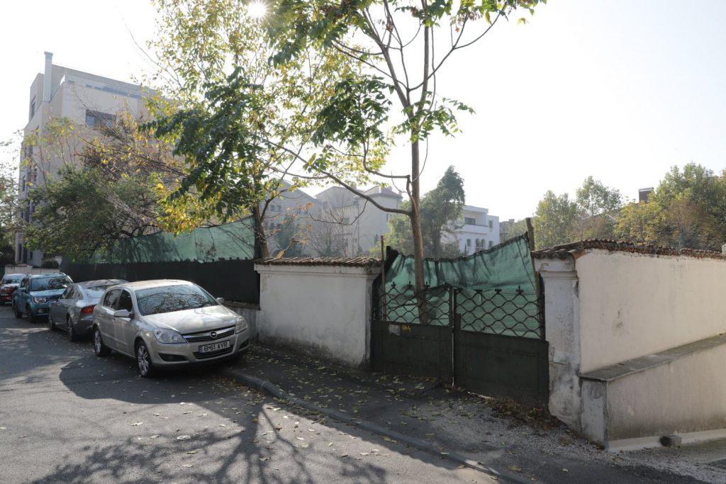 Casa Sadoveanu demolata