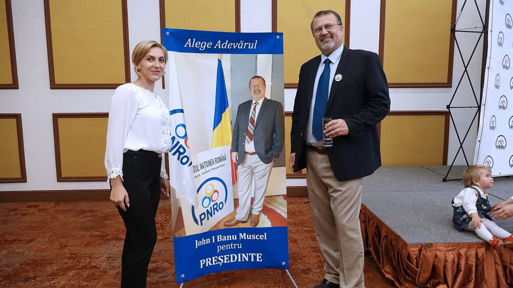 John Ion Banu, unul din candidații la alegerile prezidențiale din 2019