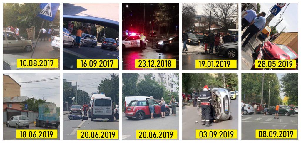 Fotografii ale accidentelor din 2017-2019, strânse de cititorii Libertatea