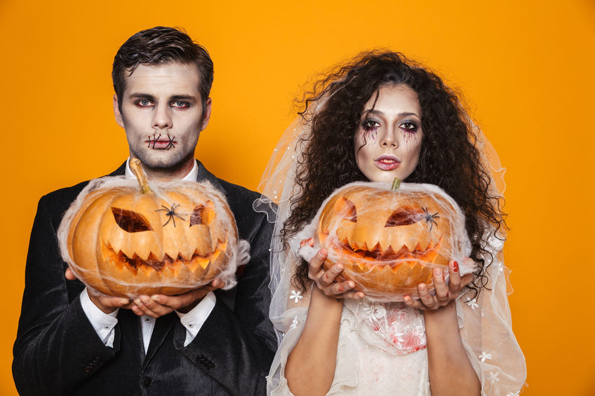 Costume înfricoșătoare de Halloween