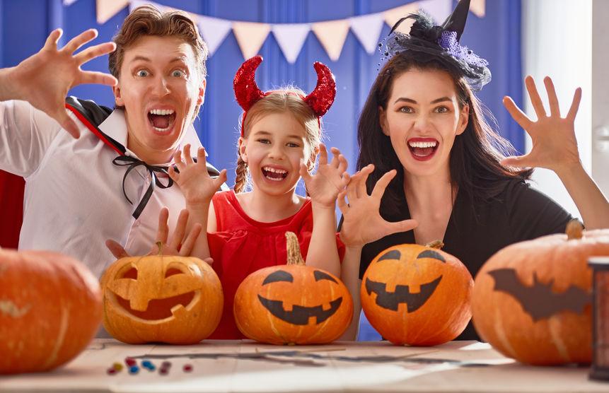 Costume pentru familie de Halloween