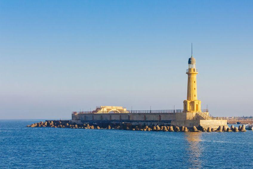 Farul din Alexandria - Cele 7 minuni ale lumii
