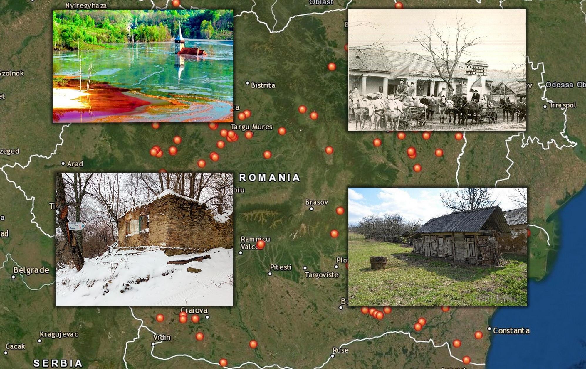 Localitățile Dispărute Ale Romaniei Povești Incredibile Despre