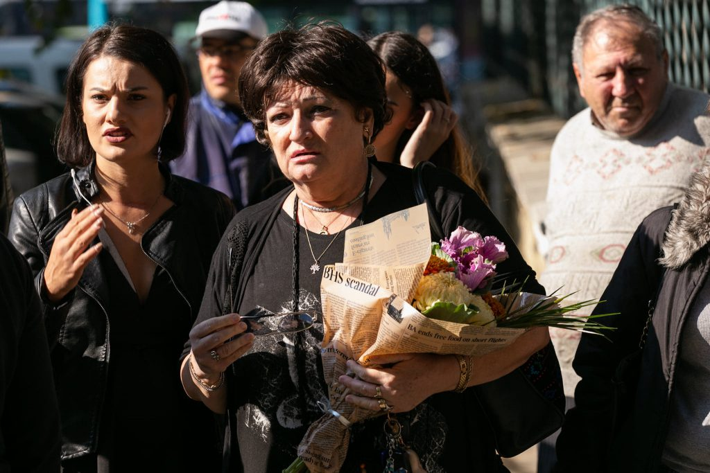 Medicul Monica Pop, o apropiată a Tamarei Buciuceanu, s-a rugat la căpătâiul regretatei artiste