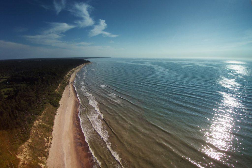 Jurkalne Seashore Bluffs, Letonia