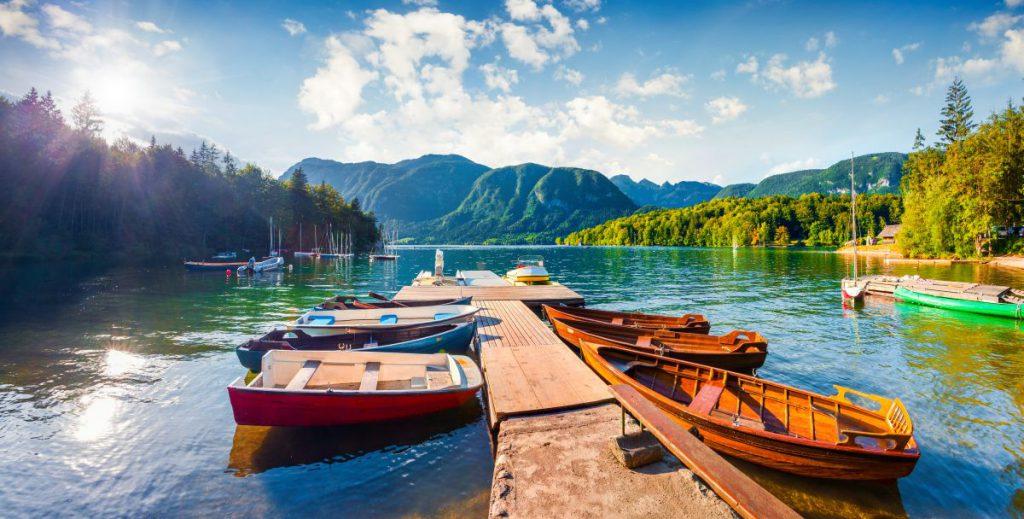 Lacul Bohinj, Slovenia