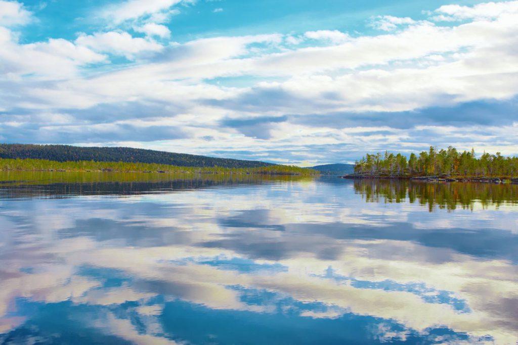 Lacul Inari, Finlanda