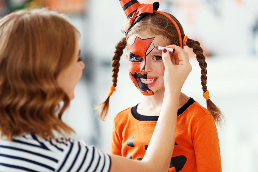 Machiaj de Halloween pentru copii