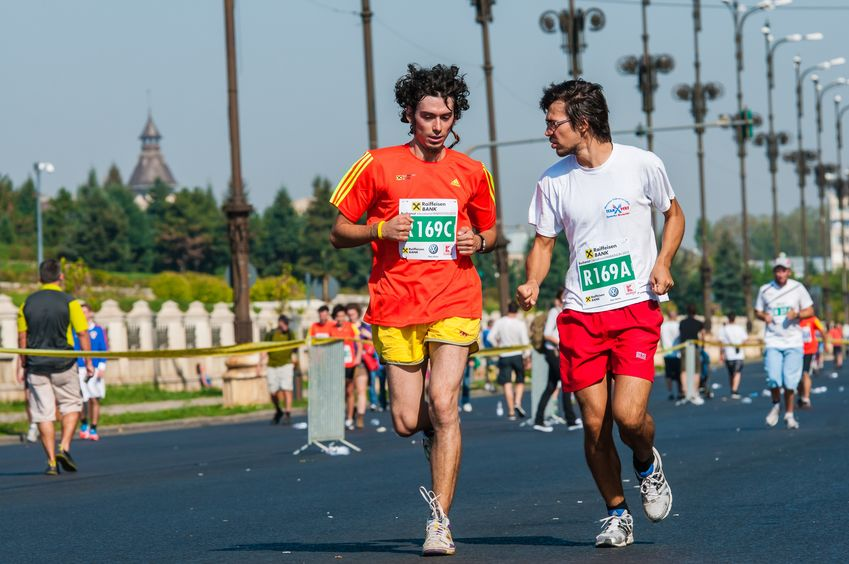 Maraton desfășurat la București