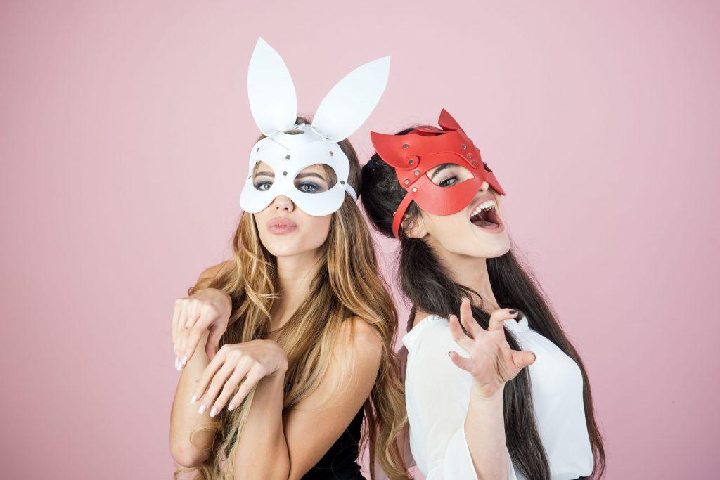 Masti de Halloween pentru fete