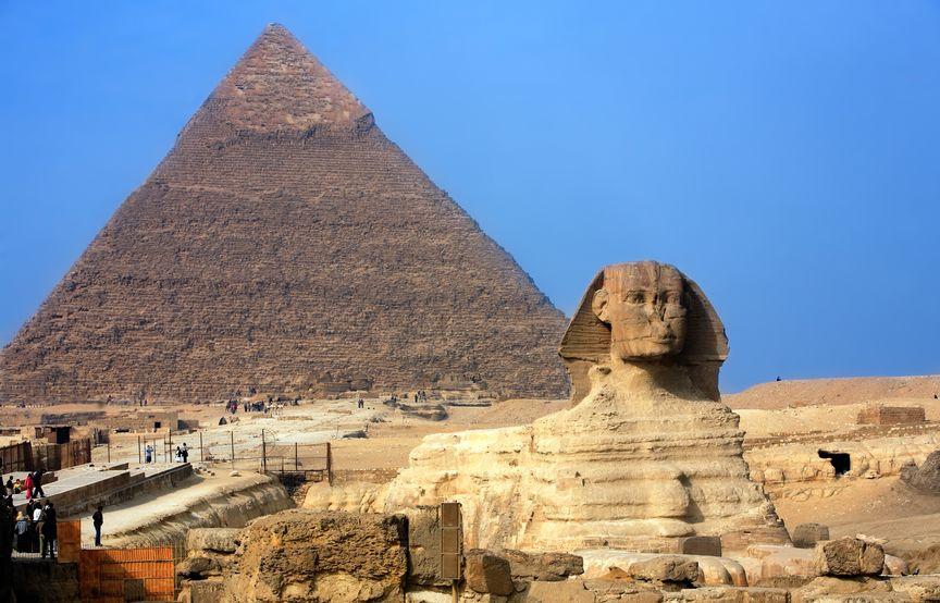Cele 7 minuni ale lumii - Piramida lui Keops - Marea Piramidă din Giza