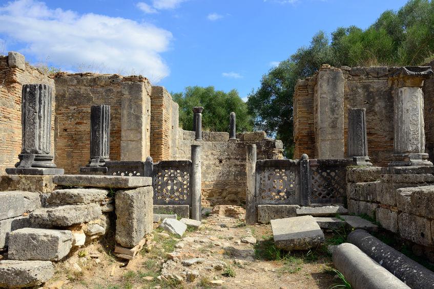 Ruine statuia lui Zeus, Phidias