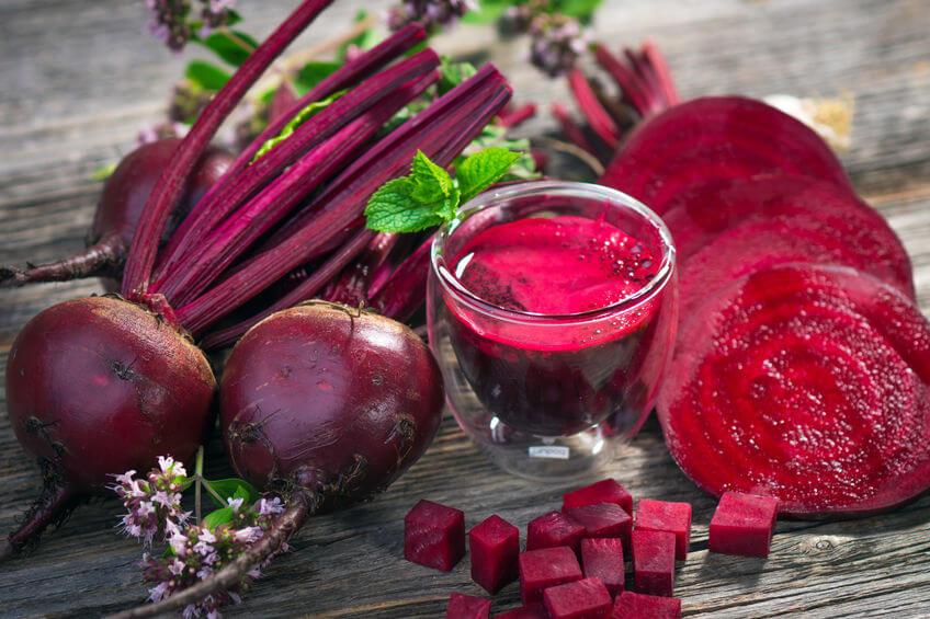 Suc de sfecla rosie pentru constipatie