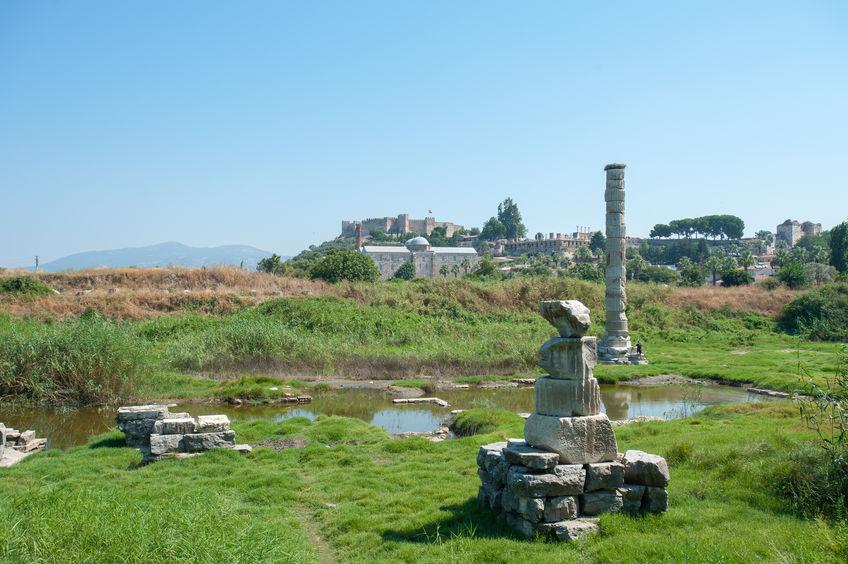 Templul Artemis din Efes - ruine