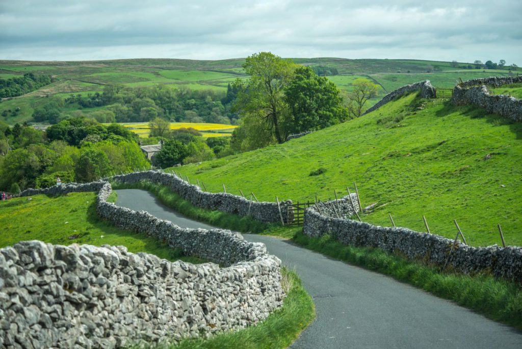 Dealurile din Yorkshire, Anglia