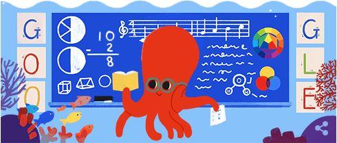 Ziua profesorului - Google Doodle