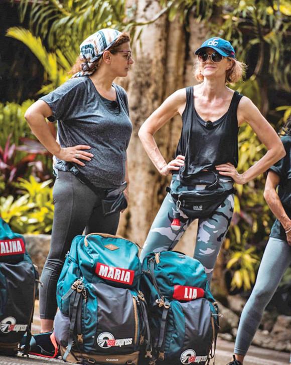 Lia Bugnar și Maria Buza, la Asia Express