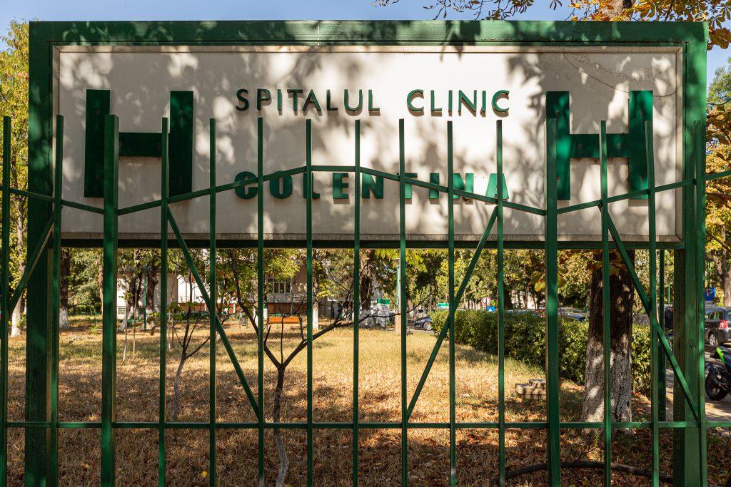 Rodica-Dorina Enache lucrează de un an la Spitalul Colentina