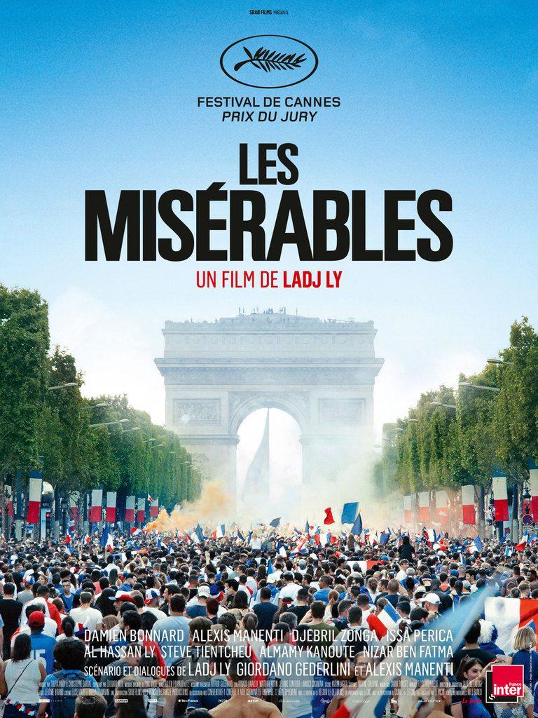 "Afișul filmului ""Les Miserables"""