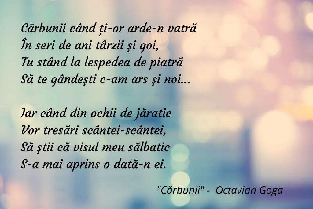 Cărbunii - Octavian Goga