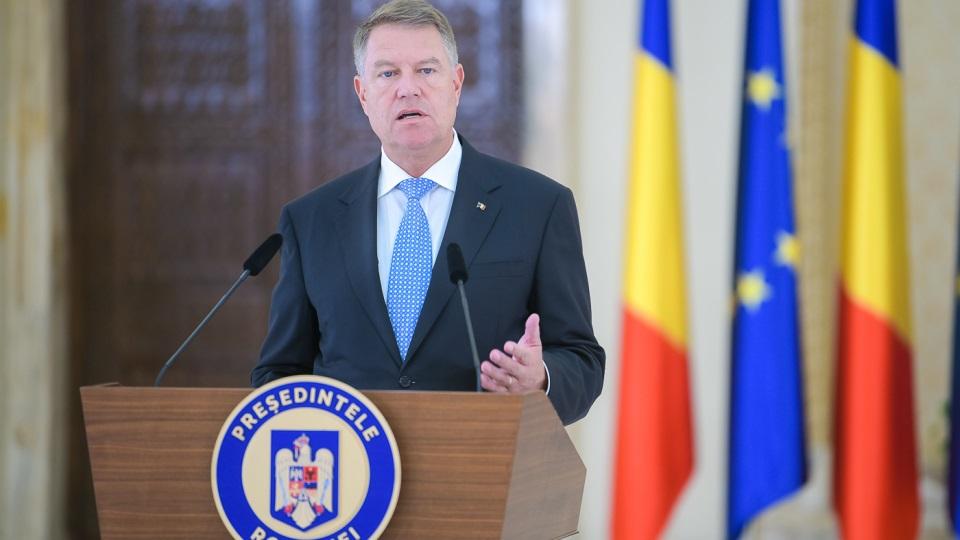 Conferință de presă Klaus Iohannis