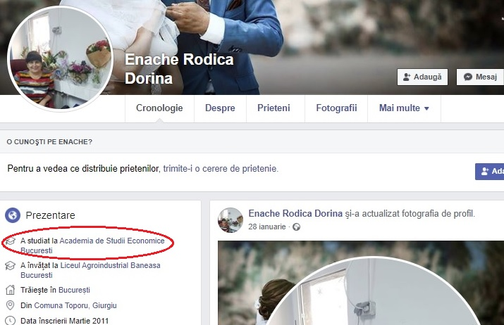 Profil FB Rodica Enache