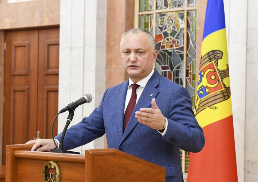Igor Dodon încearcă să-și impună guvernul în Moldova
