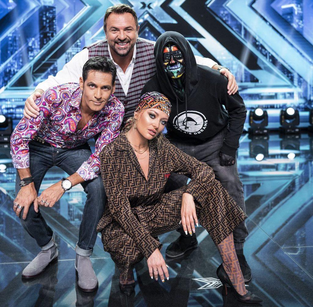 Juriul X Factor, anul trecut. Între timp, Horia Brenciu a plecat la concurență