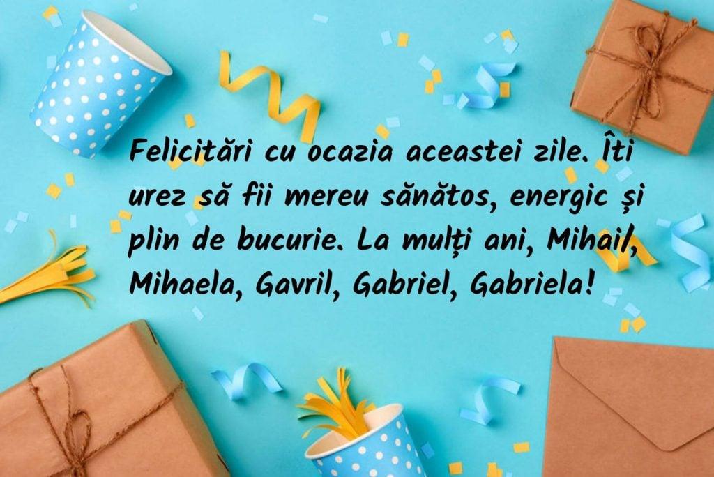 Mesaje de Sfinții Mihail și Gavril pentru prieteni și familie