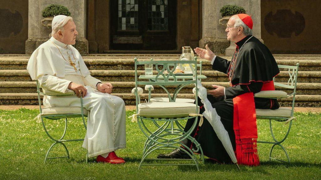 Filme Netflix decembrie 2019: The Two Popes