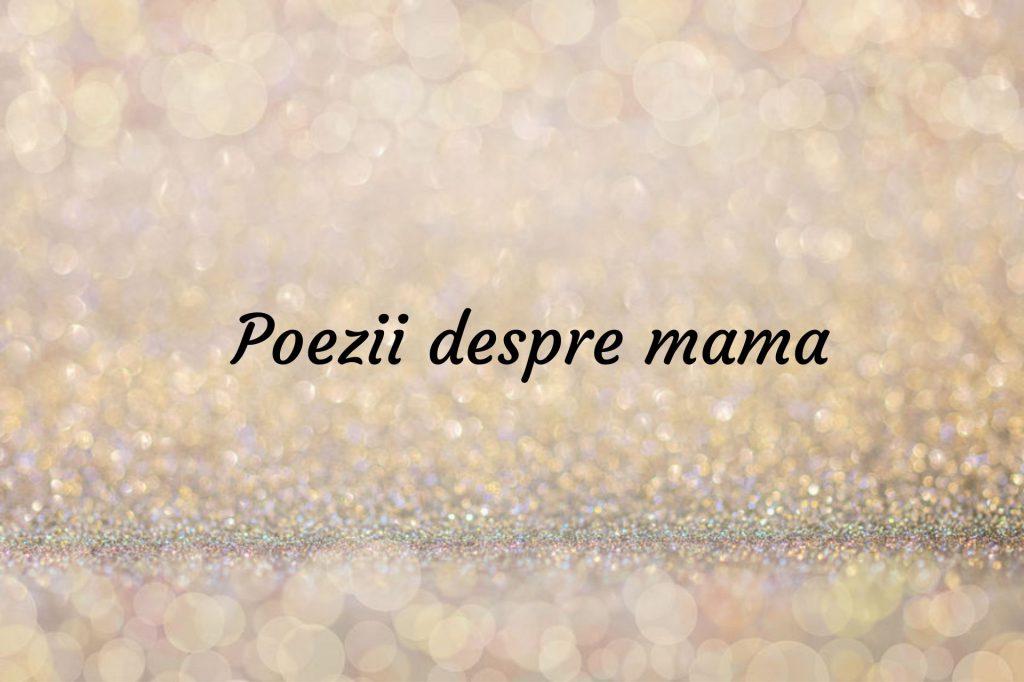 Poezie multumesc mama