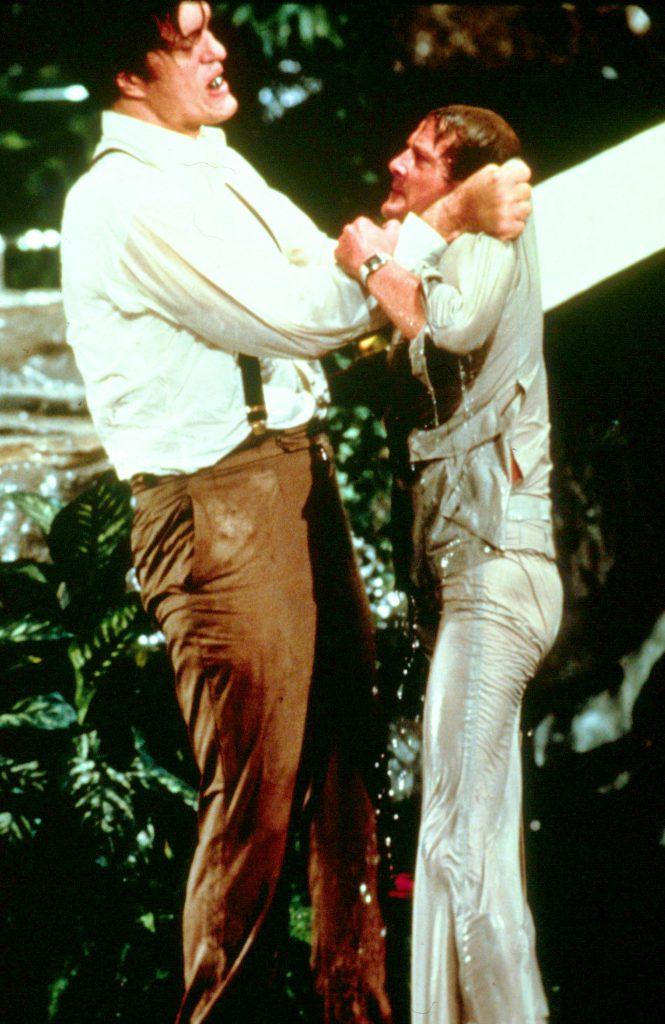 Richard Kiel și Roger Moore