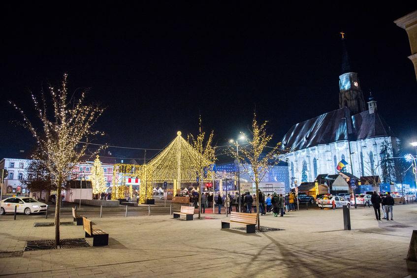 Târguri de Crăciun din România - Cluj Napoca